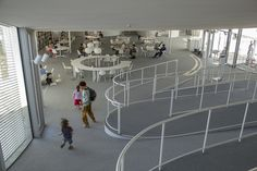 Rolex Learning Center EPFL sanaa by agallud, via Flickr
