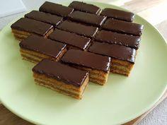 Zserbó szelet – Ez Nem Semmi Candy, Cookies, Chocolate, Food, Devil, Crack Crackers, Sweets, Biscuits, Schokolade