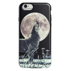 "Flexible iPhone 6/6S Case Wolf Design | Agent18.  Use coupon code ""wolf"" to save 40% on agent18.com.  This case is rated for a 1 meter drop test rating."