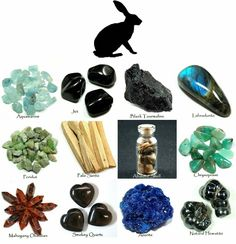 Animal Totem, Spirit Guide the Hare and corresponding Crystals