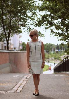 Mango B&W dress