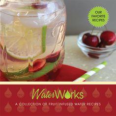 WaterWorks Fruit Infused Water Recipe Book