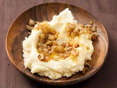 Food - Caramelized Scallion Mashed Potatoes