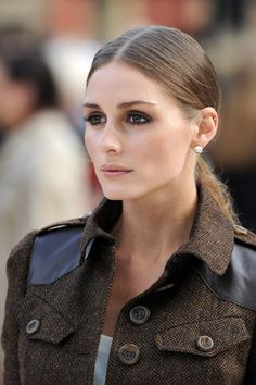 Olivia Palermo - Harry Styles at the LFW Burberry Prosum Spring/Summer 2013 runway show at London Fashion Week
