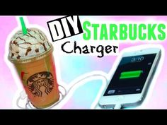 DIY STARBUCKS CHARGER! Tumblr Inspired Room Decor ♡ - YouTube