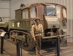 International Harvester in World War Two /WWII M 5 high speed tractor