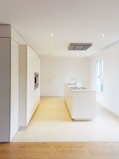 House MOU is a minimalist residence located in Cologne, Germany, designed by archequipe