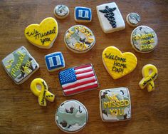 Soldier Homecoming Cookies