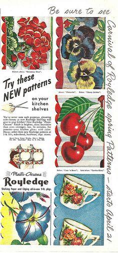 Royledge Shelf Paper by Mr. Beaverhousen, via Flickr