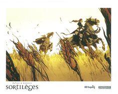 Ex-libris BD fugue pour Sortilèges tome 3 de Dufaux et Munuera. #Dargaud #BD #Sortileges #Munuera