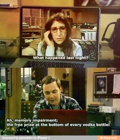 Big Bang theory - Poor Amy Farrah Fowler... Bet she doesn't try that again ;)