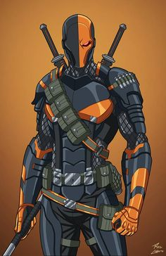 Deathstroke (E27: Enhanced) commission by phil-cho on DeviantArt