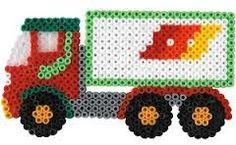 LKW / Hama Perlen - perler beads - Bügelperlen