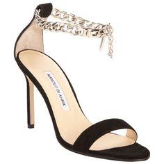 de0e5895eed Manolo Blahnik Chaos Chain Sandal on Sale at Barney s.