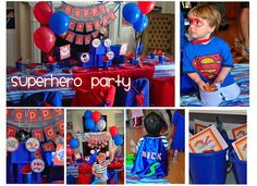 Birthday Party Ideas Entertainers and Venues DC: Super Hero Party Frosted Events Creative Party Design DC MD VA
