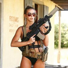 Girl with a Weapon mature female escorts Military girl . Women in the military . Women with guns . Girls with weapons