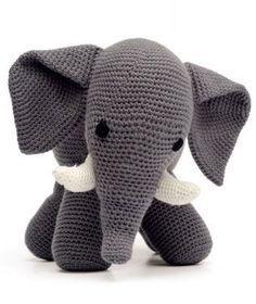 DIY Amigurumi Elephant - FREE Crochet Pattern / Tutorial