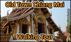Chiang Mai free walking tour of Old Town with printable maps. Do it yourself guided walking tour with the best sights and things to do in Chiang Mai Thailand's Old Town including Monk Chat, morning alms, and the top Temples. Chaing