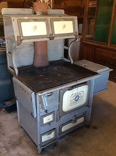 Very Old Coal Stoves Antique Home Comfort Coal Wood