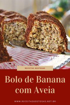 Menu Rapido, Diet Cake, Good Food, Yummy Food, Pavlova, Sans Gluten, Banana Bread, Cupcake Cakes, Cake Recipes