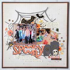 Spooky - Scrapbook.com