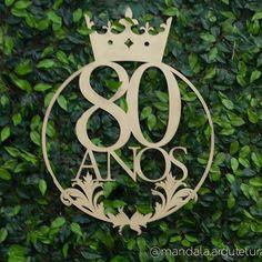 O logo personalizado para a festa de 80 anos da Maria de Fátima foi desenhado pela querida designer Rita de Cássia e produzido em parceria com a Arte Fast. Após o desenho e o recorte a laser, finalizamos com tinta dourada! #mandala #mandalaarquitetura #arquitetura #decor #festa #decoração #decoraçãofesta #aniversário #dataespecial #80anos #festa80anos #mdf #cortealaser #artefast #decoraçãoprovençal #logofesta