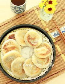 豆沙燒餅 ~ 軟糯香甜!