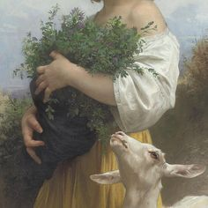 Little Esmeralda (detail), 1874 William-Aldolphe