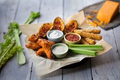 The Nashville Trio | Pick 3: Fried Pickles, Onion Rings, From-Scratch Loaded Potato Skins, Buffalo Hot Wings, Mozzarella Cheese Sticks or Chicken Tenders - at Logan's Roadhouse