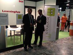 @ExpoTraining per presentare la nostra piattaforma mobile learning e la nostra suite si Assessment on Line #Thalento