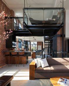 Cool 46 Stunning Loft Bedroom Design Ideas.