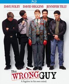 The Wrong Guy (Blu-ray, 2017) Kino Lorber Studio Classics/Cult Dave Foley Comedy