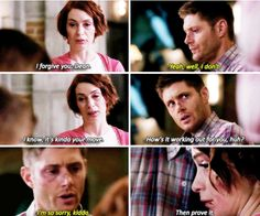 I wanted to hug Dean so bad in this episode! :(