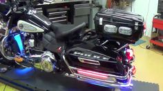Delray Beach Police Motorcycle Light by Chrome Glow
