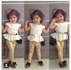 I love this little girl's style. Follow her on IG.