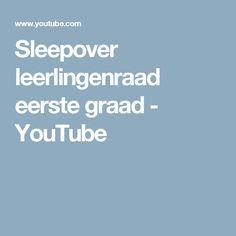 Sleepover leerlingenraad eerste graad - YouTube