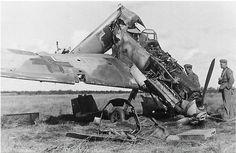 Bombed Bf-109E | by Krueger Waffen