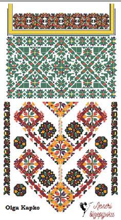 Схема буковинської сорочки. Для придбання, звертатися lelechivizerunki@gmail.com