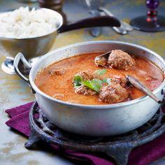 Kofta | Intialaiset lihapyörykät