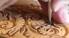 Using Backgrounder in Leatherwork ~ Leathercraft Tutorial ~ Basics of Leather Craft, via YouTube.