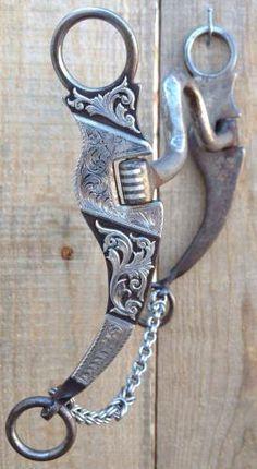 Cowboy Spurs, Cowboy Gear, Horse Bits, Horse Tack, Horse Riding Gear, Blacksmithing Knives, English Tack, Western Tack, Horses And Dogs