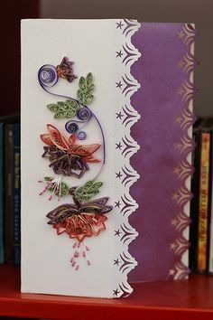 i love quilling...have to make this one!