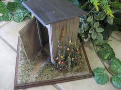 Diorama Hand Made Vignette Miniature Pioneer by UnhungHarps