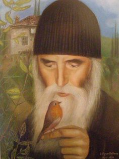 Injustice Is a Great Sin by Elder Paisios of Mount Athos The Holy Mountain, Orthodox Christianity, Orthodox Icons, Mother Mary, Religious Art, Christian Faith, Catholic, Saints, Painting