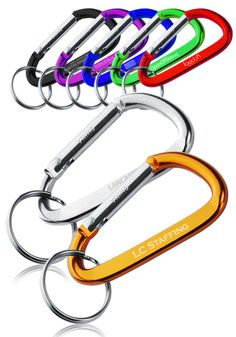 Personalized carabiner keychain wedding favors?