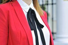 bow-tie-blouse #bowtieblouse #bow #tie #bowtie #blouse #blackbow #black