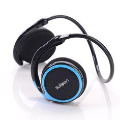 Premium Stereo Bluetooth Hovedtelefoner - Sort/Blå