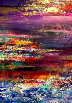 """""""The Promise"""" original abstract acrylic on canvas painting by Dublin-based artist Jaanika Talts. Impressionist Paintings, Mail Art, Abstract Wall Art, Painting Techniques, Painting Inspiration, Amazing Art, Art Drawings, Art Photography, Fine Art"""
