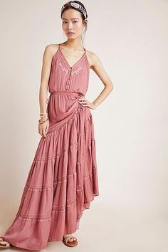 Vieques Maxi Dress | Anthropologie