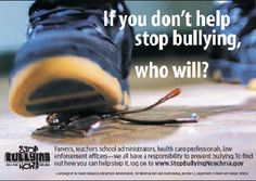 It's bad enough that children and teenagers are bullies, but adults? are bullies, too. Stop Bullying Speak Up, Anti Bullying, Cruel People, Bullying Prevention, English Fun, It Gets Better, Reading Strategies, Middle School, High School